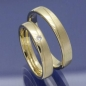 Preview: Trauringe aus 585 Gelbgold mit Brillant S170