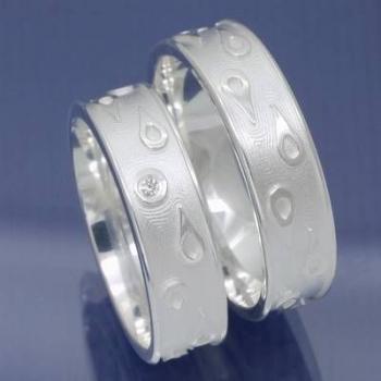 Designer Hochzeitsringe Verlobungsringe Freundschaftsrine Trauringe PA148125
