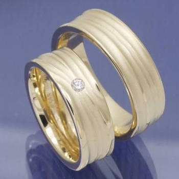 Trauringe aus 585 Apricot Gold - Ringe etwas anders P9158056