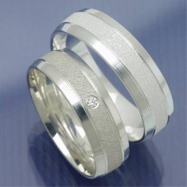 Ausgefallene partnerringe silber  Eheringe-Shop - Silber Partnerringe Verlobungsringe Modell Tasso ...