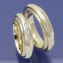 Trauringe aus 585 Gelbgold Drehring Collection P7057927