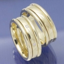 Variable Trauringe aus 585 Gelbgold mit Brillanten PB298202